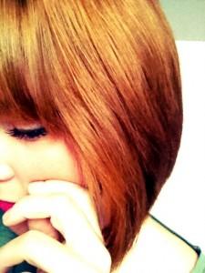 glänzendes Haar