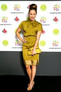 Mona Jansen auf der Laughing Hearts Charity Veranstaltung