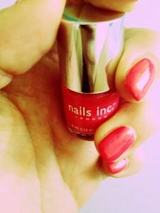 nails inc in der Juli Glossybox