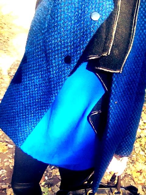 blau blau blau ist mein heutiges outfit. Black Bedroom Furniture Sets. Home Design Ideas