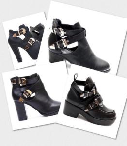Berliner Bloggerin Berliner Modegöre berichtet über neuen Trend der Cut out boots